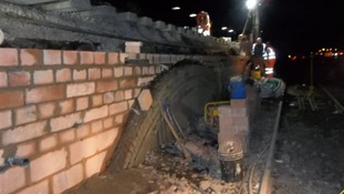 Rebuilding the collapsed wall
