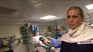 Rebecca McAllister, Leading Naval Nurse