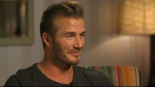 David Beckham speaks to GMB's Susanna Reid.
