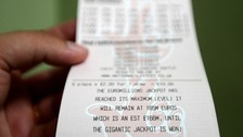 EuroMillions jackpot - second biggest UK prize ever