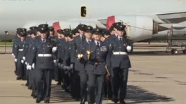 Prince William joins anniversary celebrations at RAF Coningsby
