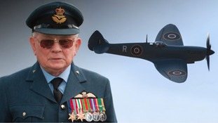 Tributes paid to WW2 Spitfire pilot who died on Battle of Britain memorial day