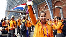 Ranomi Kromowidjojo who won two gold medals and a silver in swimming for the Dutch Olympic team