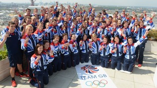 Team GB athletes