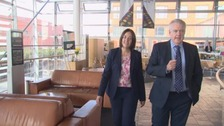 Kezia Dugdale met Carwyn Jones at the National Assembly