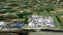 Plans for the new nuclear power station at Hinkley Point