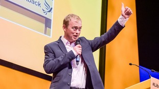 Tim Farron will make his first major address to the Liberal Democrat conference as party leader on Wednesday.