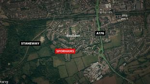 A 32-year-old man was found with stab wounds near woodland in Sporhams, Basildon.