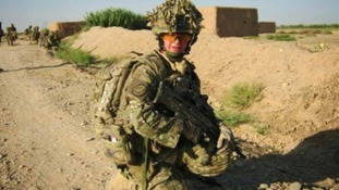 Dave Curnow was one of the youngest British soldiers to serve in Afghanistan