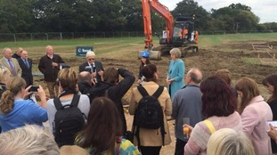 Building work begins on new children's hospice.