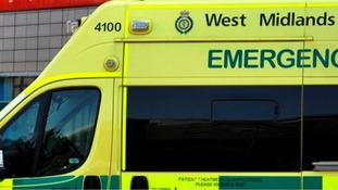 Elderly man suffers head injuries in collision with car