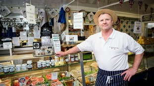 Owner Richard Balson at Balson's Butchers