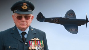 Flight Lieutenant George Thompson joined the RAF in 1941