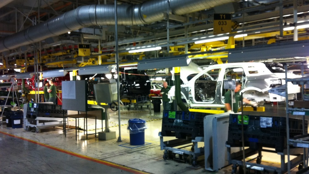 Merseyside S Jaguar Land Rover Plant Operates 24 Hours