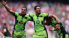 Northampton Saints brother Ken and George Pisi are in the squad for the South Africa game