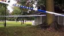 The scene of the third attack has been cordoned off