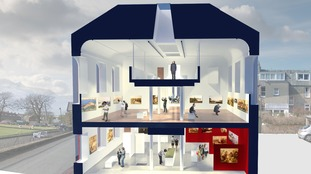 The new Kirkcudbright Art Gallery will be able to show nationally significant collections