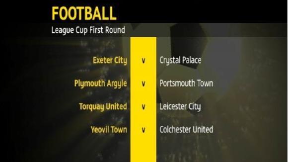 football fixtures today