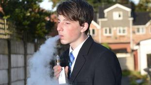 Teachers confiscated 14-year-old Mason Dunn's e-cigarette