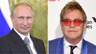 Sir Elton John to meet Vladimir Putin after recent phone prank