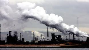 The SSI steelworks in Redcar