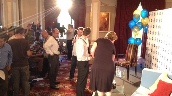 EuroMillions press conference about to begin