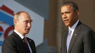 Barack Obama and Vladimir Putin will meet at the UN on Monday.