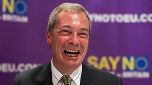 Nigel Farage believes winning the EU referendum is 'absolutely key'.