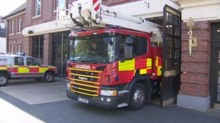 Two fire stations are earmarked for closure