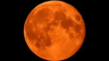 Moon set to turn red in giant 'supermoon' lunar eclipse.