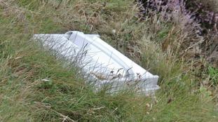 Dumped rubbish in Cornwall
