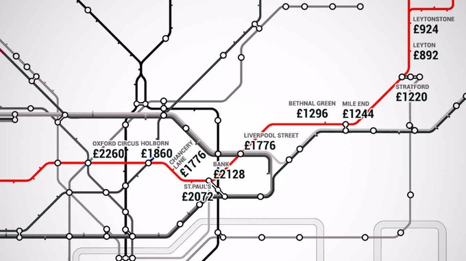 underground london prices