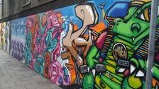 See No Evil street art