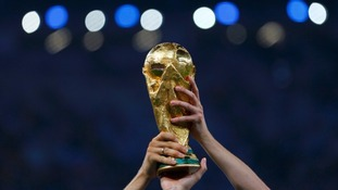 The World Cup trophy.