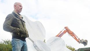 Mark Humphrey and the marble poppy