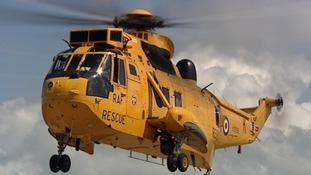 RAF Valley on Anglesey hits 9,000th rescue