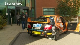 Watch: Scottish Rally Champion visits ITV Border