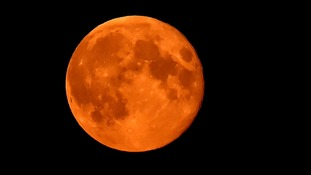 Rare blood-red 'supermoon' to be visible Sunday night