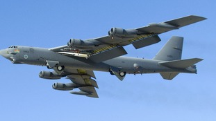 An X-51A Waverider successfully launched from a B-52 Stratofortress