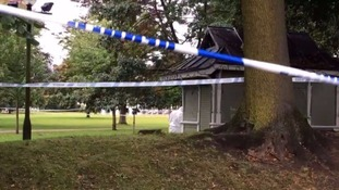 The scene of the third attack at Gorsedd Gardens