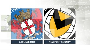 Carlisle v Newport badge