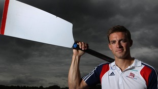 Great Britain Rower Pete Reed.