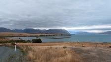The accident took place on Lake Tekapo on New Zealand's south island.
