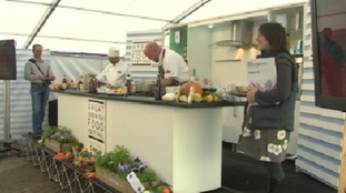 The 12th Great Cornish Food Festival is taking place in Truro