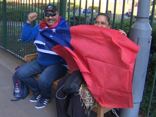 Despite being the underdogs Samoa fans say their team will fight with everything they've got