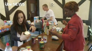 Michael McCheyne was homeless for four years before setting up Burton Food Angels with his partner Ann Marie Morgan