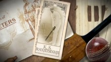 Ranji cricket card