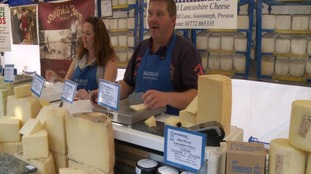 Local cheese on sale