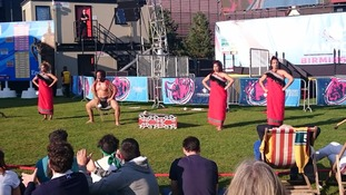 Some performances featured the Maori Haka