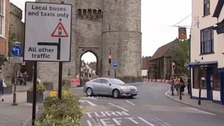 Westgate Towers traffic scheme